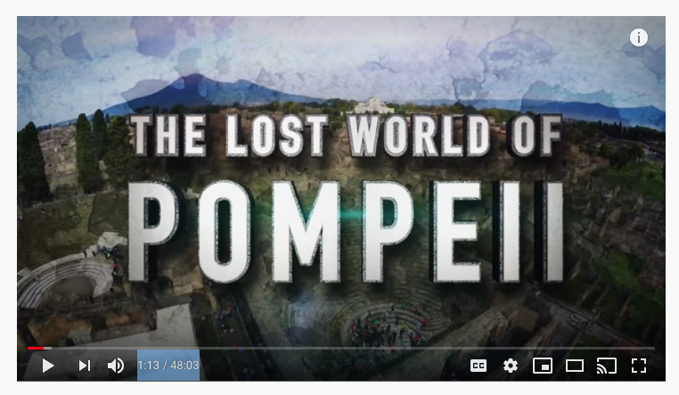 Pompeii video Rome school trips copy