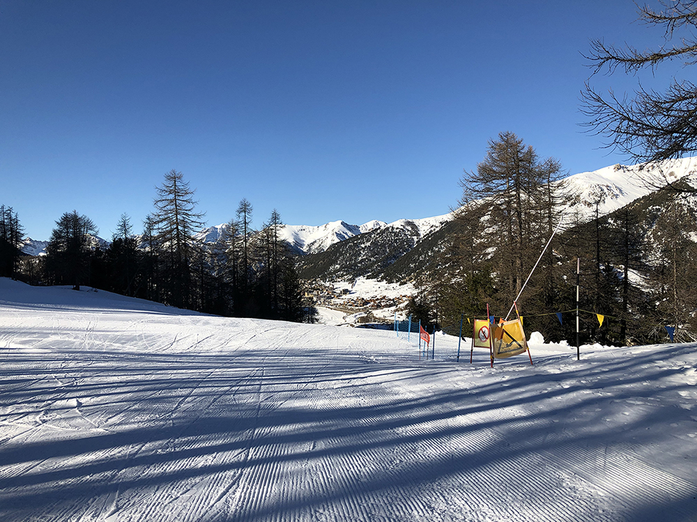 school skiing trips italy milky way